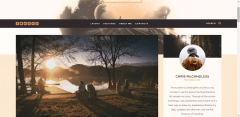 Blog page of Journey theme