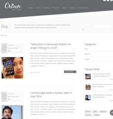Blogpage of Crown