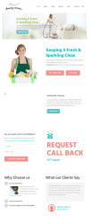 Cleaning company – Homepage