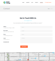 Contact Page – Good Energy
