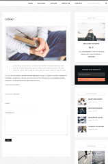 Contact Page – Maple