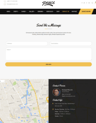 Contact Page – Peace
