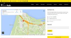 Contact page of Travelhub