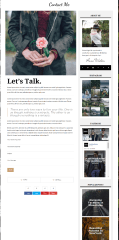 Contact page of Wudson theme