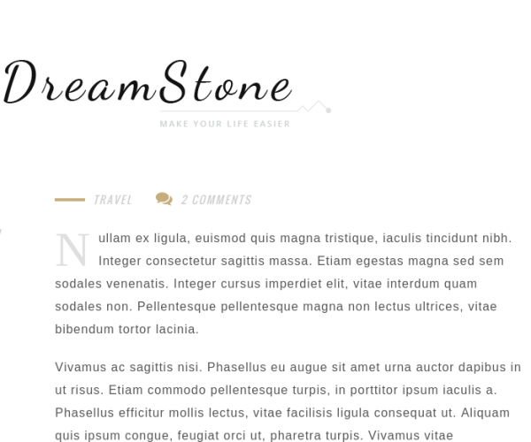 DreamStone Homepage