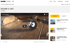 Duine Desing & Art Category Page