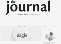 Eagle Journal Page