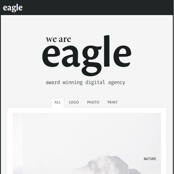 Eagle – Freelancer & Agency Layers WP Child Theme