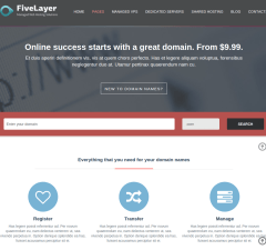FiveLayers Domain page