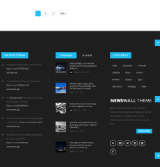 Footer-Newswall-theme-