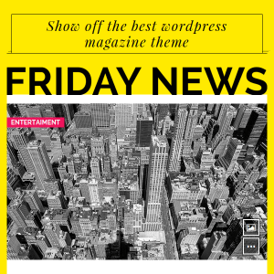 Friday News Magazine WordPress theme