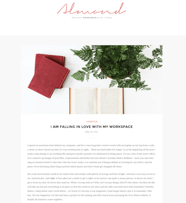 Full Width Page - Almond