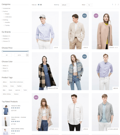 GREAT STORE - Shop page