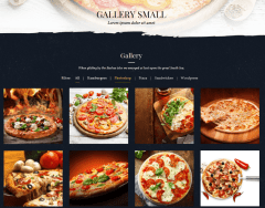 Gallery – Food & Pizzeria
