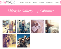 Gallery page of Envogue