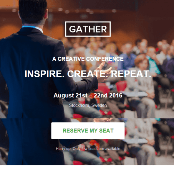 Gather – WordPress Landing theme for Event and Conferences png