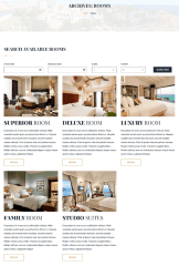 Grid View of Rooms Page – Moon
