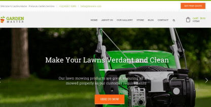 Home Page of Garden Master