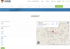 Home Planify Contact Page
