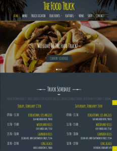 Homepage The Food Truck