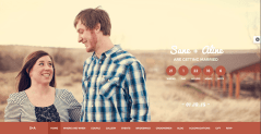 Homepage of Nikh theme