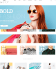Homepage of theShop