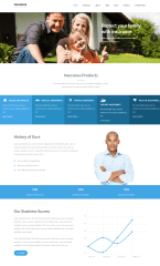 Insurance Agency – Homepage