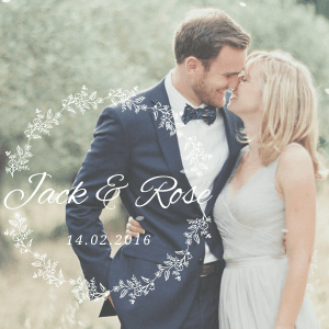Jack & Rose - A Whimsical WordPress Wedding Theme