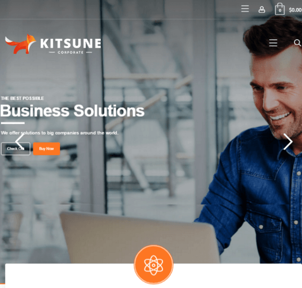 Kitsune – Responsive Business WordPress theme