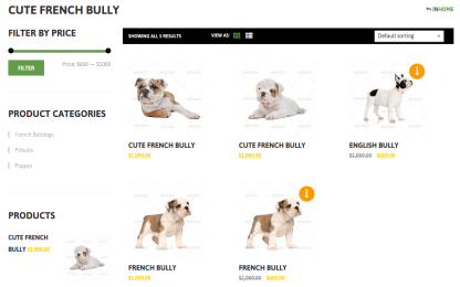 Kybully Cute French Bully Page