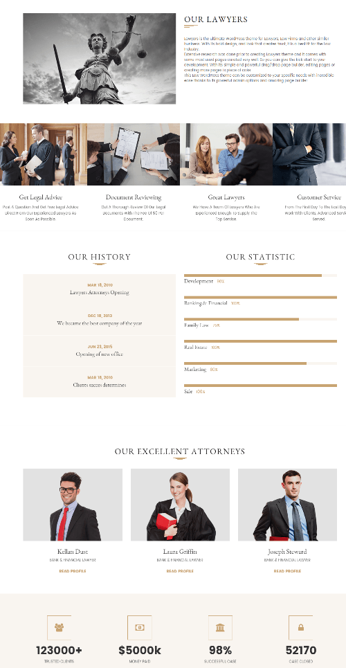 Lawyers Attorneys - about us