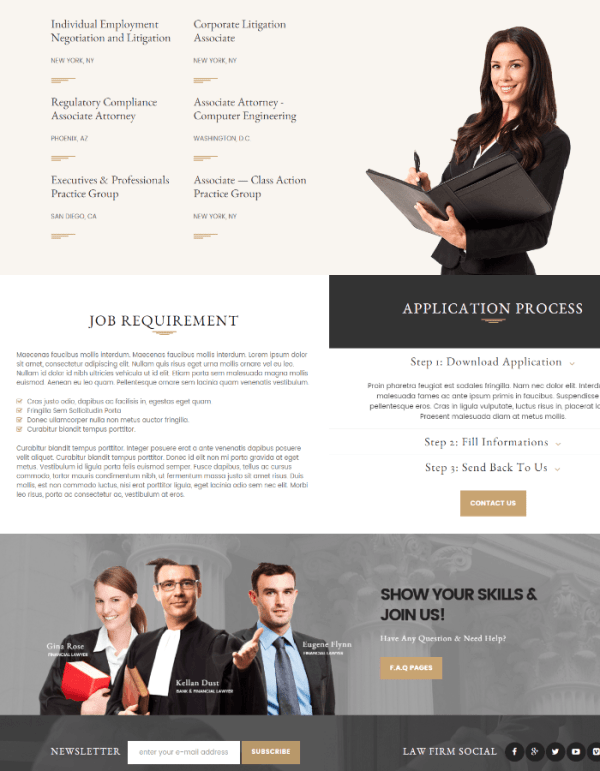 Lawyers Attorneys - careers