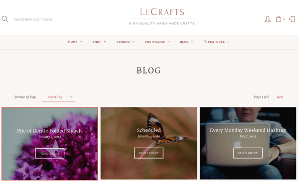 LeCrafts Blog Page