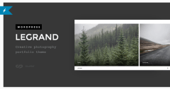 Legrand -Portfolio WordPress theme