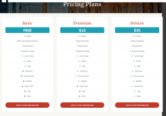 Listing Builder – Prices