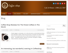Local Business Blog Page