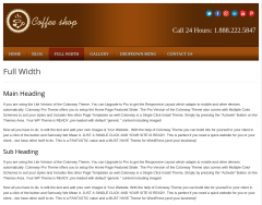 Local Business Full Width Page