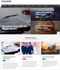 Magazine Page – Publisher