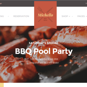 Michello homepage