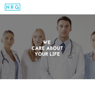 NRG Hospital - One & Multi page Health Theme