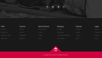New Fashion Footer