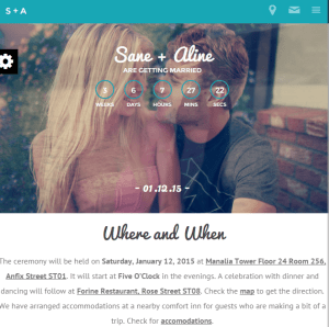 Nikh - Wedding WordPress theme which is fully responsive png
