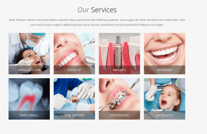 Our Services - Dentist