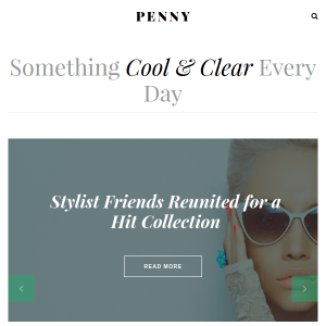 Penny - Blog & Magazine Stylish Wordpress Theme