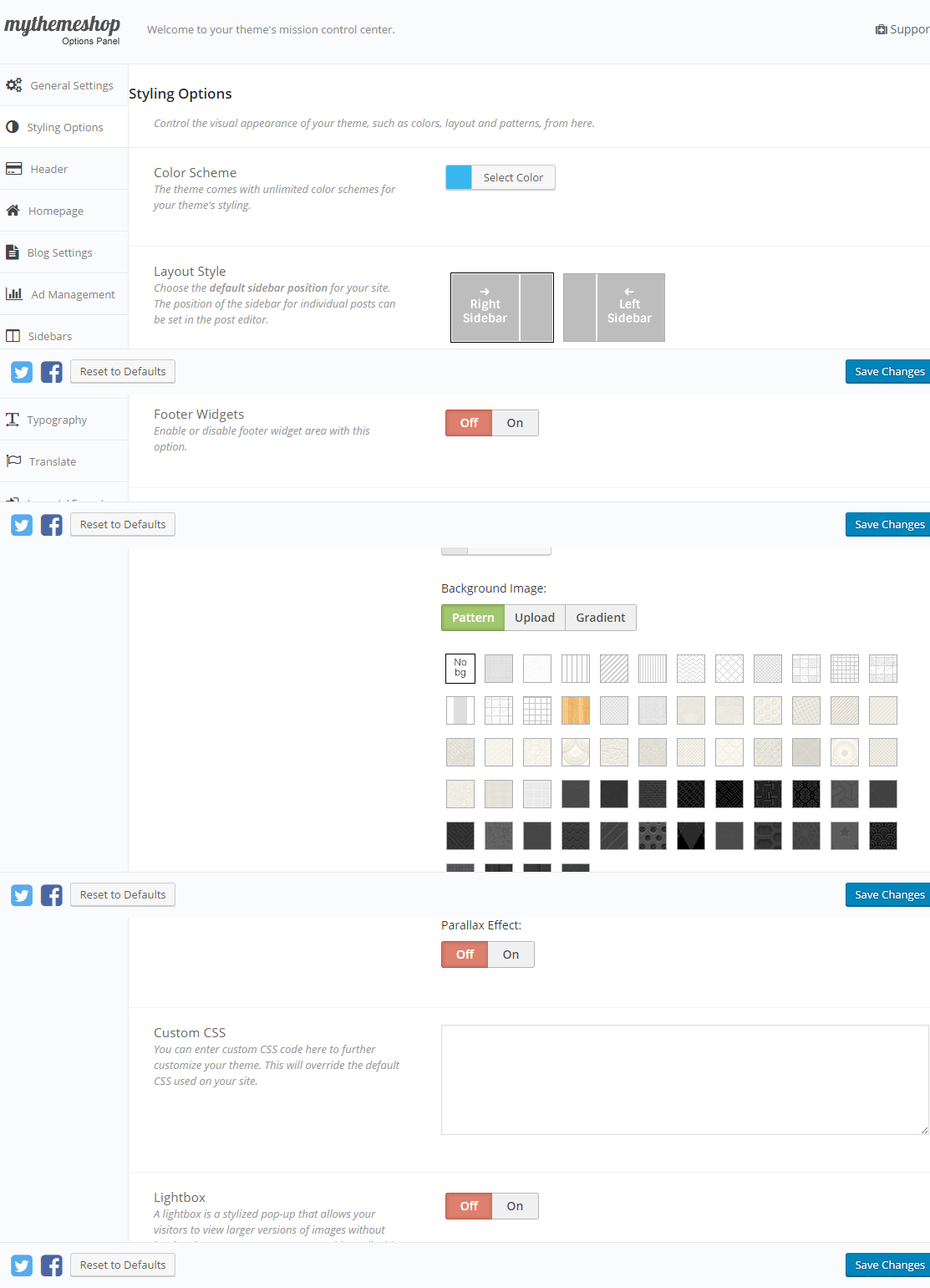 Point Pro - Styling options