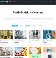 Portfolio of EliteMasters