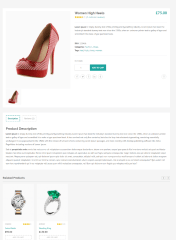 Products of Shopica theme