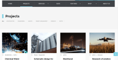 Project page of WP industry