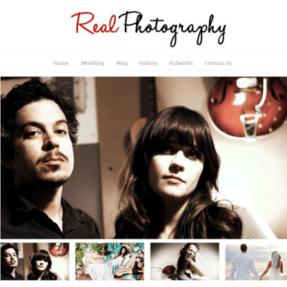 Real Photography WordPress Theme