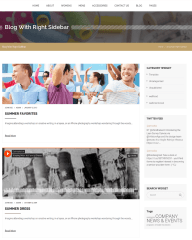 Right sidebar Blog Page – Alteration Shop